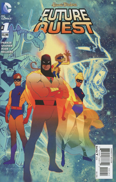 FUTURE QUEST #1 1st SPACE GHOST BILL SIENKIEWICZ VARIANT