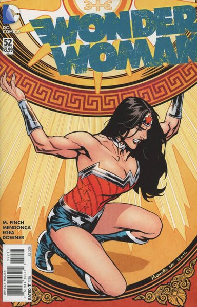 WONDER WOMAN VOL 4 #52 1st PRINT COVER