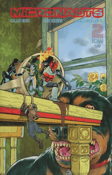 MICRONAUTS #2 SUBSCRIPTION VARIANT A