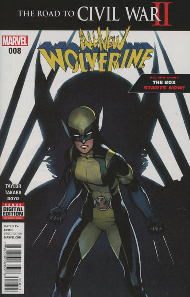 ALL NEW WOLVERINE #8 1st PRINT COVER