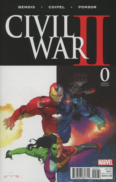 CIVIL WAR II #0 ESAD RIBIC VARIANT
