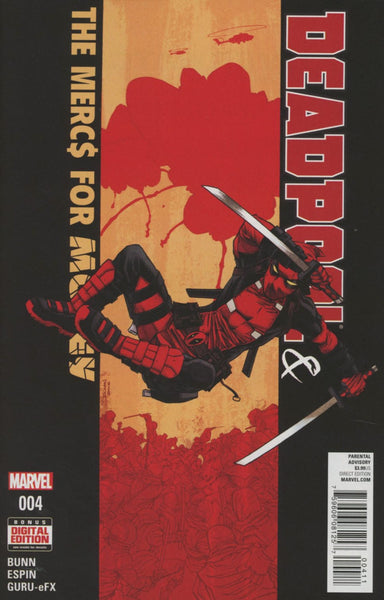 DEADPOOL MERCS FOR MONEY #4 (OF 5)
