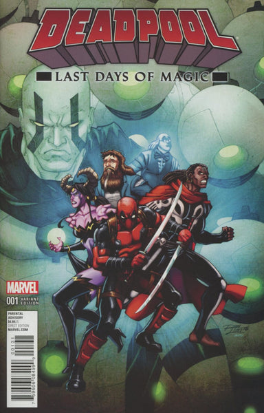 DEADPOOL LAST DAYS OF MAGIC #1 RON LIM VARIANT COVER