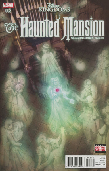 DISNEY KINGDOMS HAUNTED MANSION #3 1st PRINT COVER