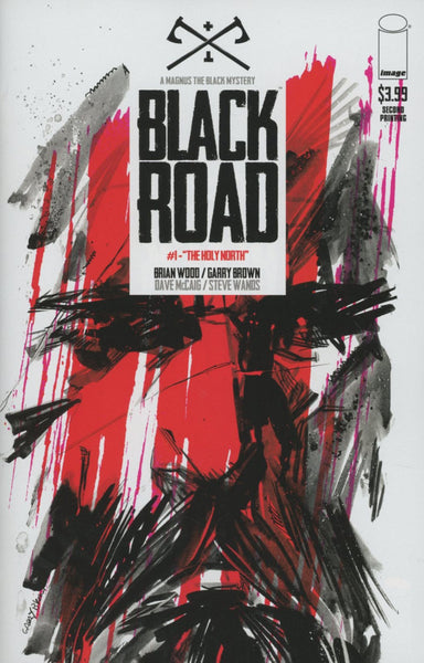 BLACK ROAD #1 2ND PRINT