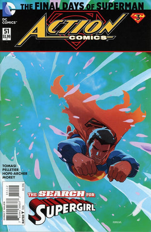 ACTION COMICS #51 2ND PTG (FINAL DAYS)