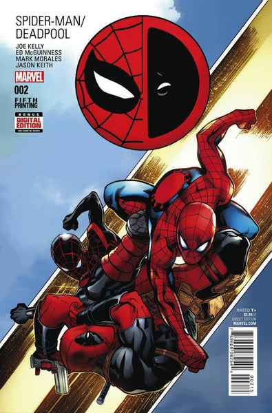 SPIDER-MAN DEADPOOL #2 MCGUINNESS 5TH PTG VAR