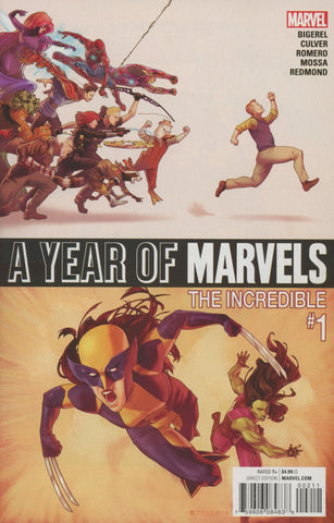 A YEAR OF MARVELS THE INCREDIBLES #1