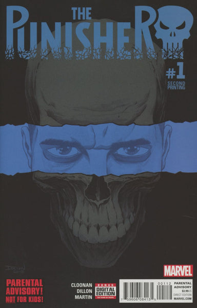 PUNISHER #1 SHALVEY 2ND PTG VAR