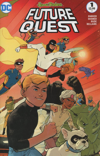 FUTURE QUEST #1 2ND PTG