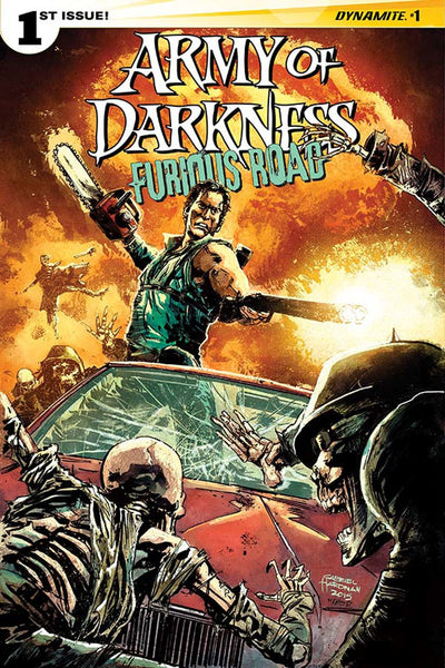 ARMY OF DARKNESS FURIOUS ROAD #1 (OF 5) CVR B HARD