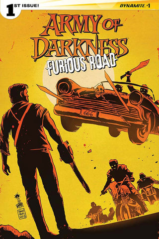 ARMY OF DARKNESS FURIOUS ROAD #1 (OF 5) CVR C FRAN
