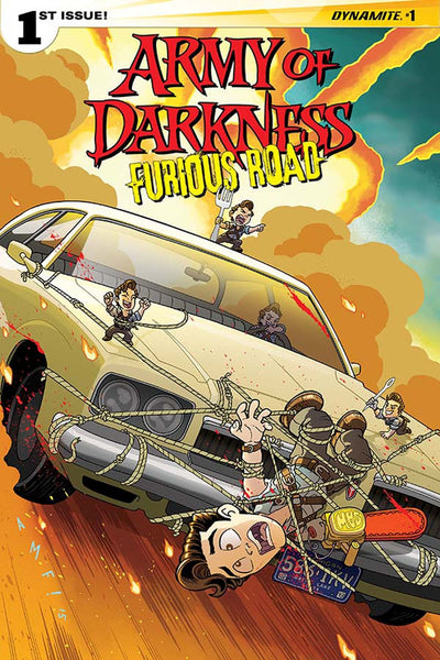 ARMY OF DARKNESS FURIOUS ROAD #1 (OF 5) CVR D FLEE