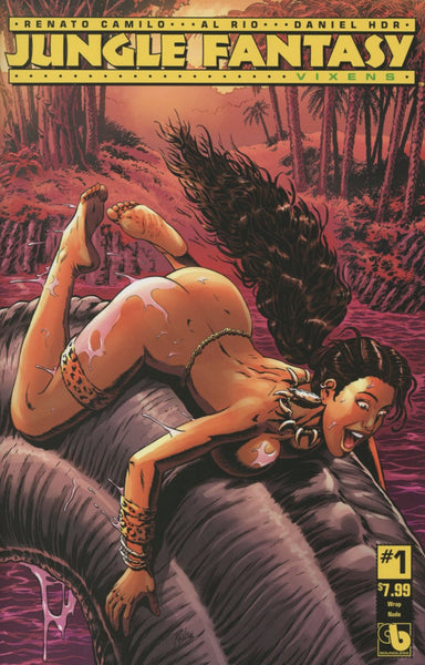 JUNGLE FANTASY VIXENS #1 (OF 2) WRAP NUDE CVR