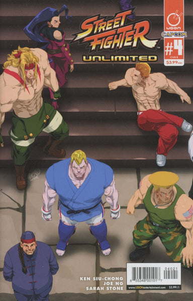 STREET FIGHTER UNLIMITED #4 CVR B CRUZ ULTRA JAM