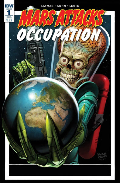 MARS ATTACKS OCCUPATION #1 (OF 5) SUBSCRIPTION VAR