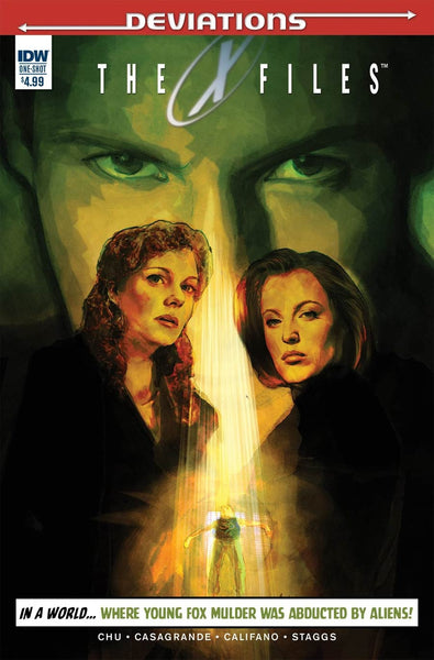 X-FILES DEVIATIONS (ONE SHOT)
