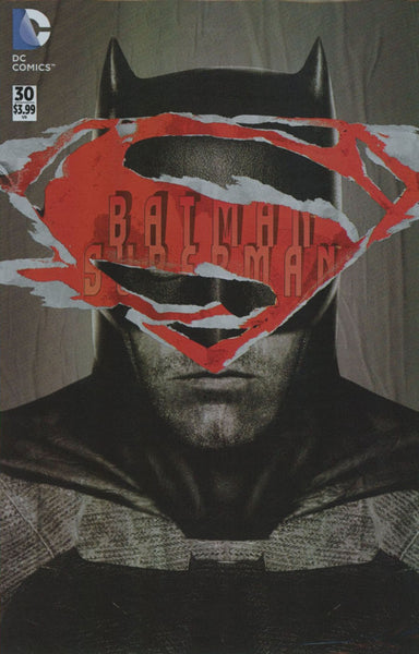 BATMAN SUPERMAN #30 POLYBAG VAR ED