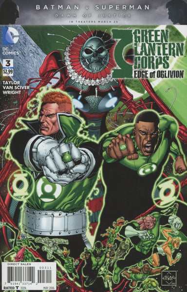GREEN LANTERN CORPS EDGE OF OBLIVION #3 (OF 6)