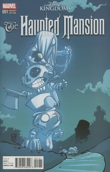 DISNEY KINGDOMS HAUNTED MANSION #1 (OF 5)  SKOTTIE YOUNG VAR