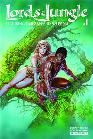 LORDS OF THE JUNGLE #1 (OF 6) CVR A ROSS