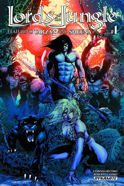 LORDS OF THE JUNGLE #1 (OF 6) CVR B CASTRO
