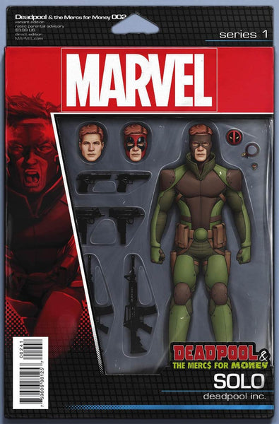 DEADPOOL MERCS FOR MONEY #2 (OF 5) ACTION FIGURE V