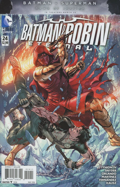 BATMAN AND ROBIN ETERNAL #24