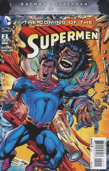 SUPERMAN THE COMING OF THE SUPERMEN #2 (OF 6)