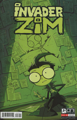INVADER ZIM #8 VAR LAWTON