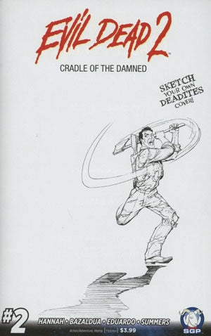 EVIL DEAD 2 CRADLE OF THE DAMNED #2 INCENTIVE