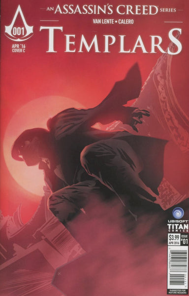 ASSASSINS CREED TEMPLARS #1 CVR C CALERO