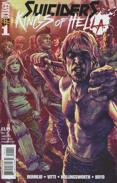 SUICIDERS KING OF HELLA #1 (OF 6)
