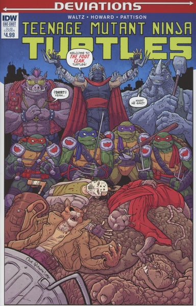 TEENAGE MUTANT NINJA TURTLES DEVIATIONS SUBSCRIPTION VAR