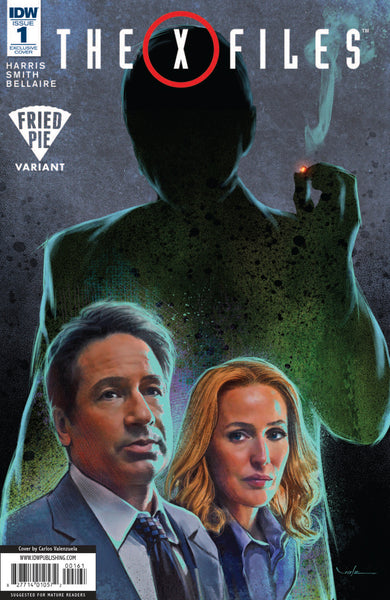 X-FILES (2016) #1 FRIED PIE EXCLUSIVE