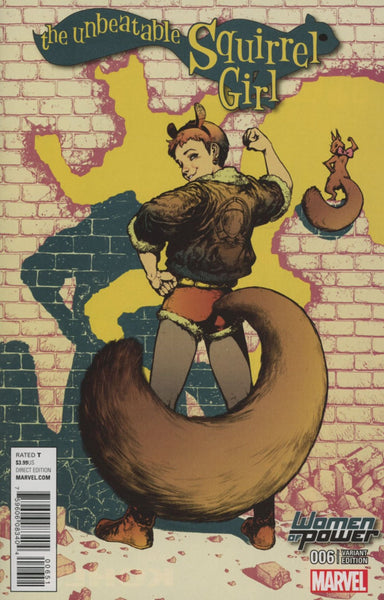 UNBEATABLE SQUIRREL GIRL #6 WOP VAR