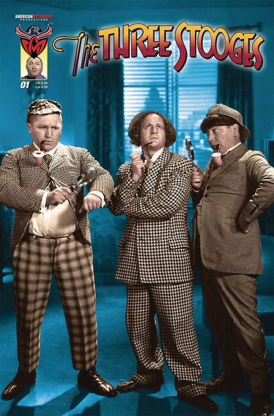 THREE STOOGES BOYS ARE BACK #1 PHOTO CVR