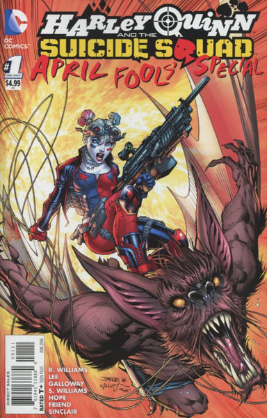 HARLEY QUINN & THE SUICIDE SQUAD APRIL FOOLS SPECIAL #1 1st PRT