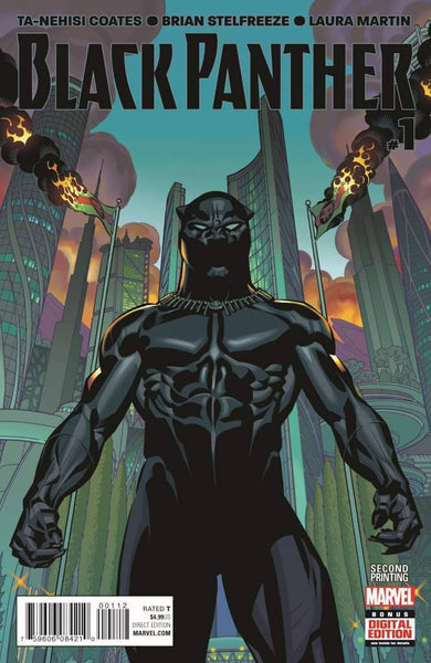 BLACK PANTHER VOL 6 #1 STELFREEZE 2ND PTG VAR