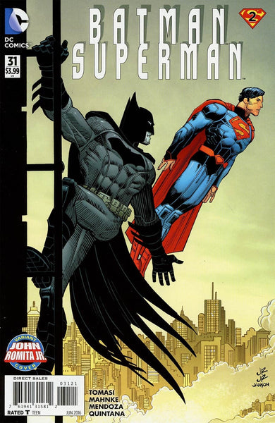 BATMAN SUPERMAN #31 ROMITA VARIANT