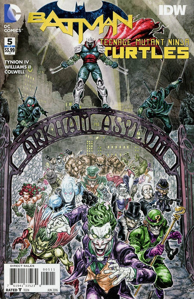 BATMAN TEENAGE MUTANT NINJA TURTLES #5 (OF 6)