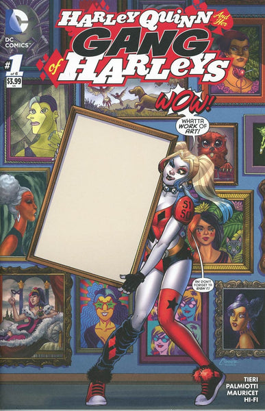 HARLEY QUINN AND HER GANG OF HARLEYS #1 (OF 6) CON