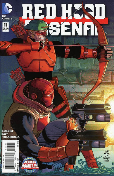 RED HOOD ARSENAL #11 ROMITA VARIANT