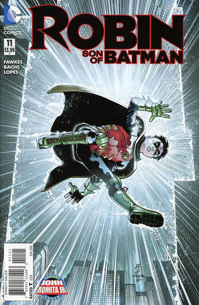 ROBIN SON OF BATMAN #11 ROMITA VARIANT