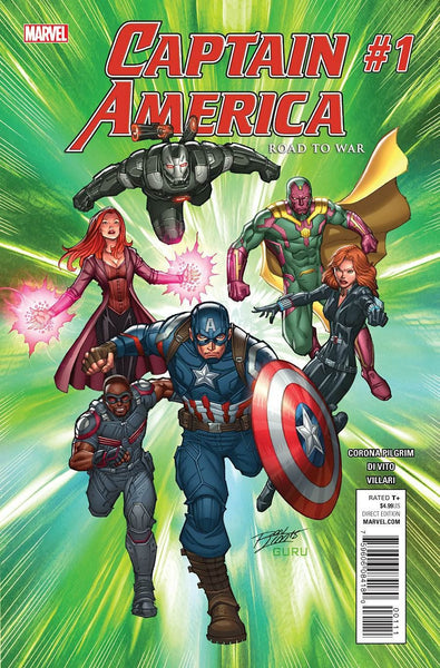 CAPTAIN AMERICA ROAD TO WAR #1