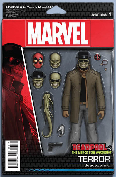 DEADPOOL MERCS FOR MONEY #3 (OF 5) ACTION FIGURE VARIANT