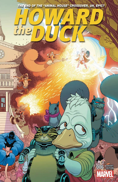 HOWARD THE DUCK #6 TRADD MOORE CONNECTING B VARIANT