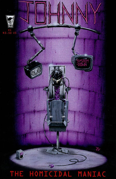 JOHNNY THE HOMICIDAL MANIAC #4 NEW PTG