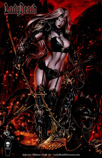 LADY DEATH CHAOS RULES #1 INFERNO CVR