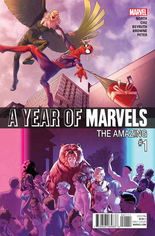 A YEAR OF MARVELS AMAZING #1